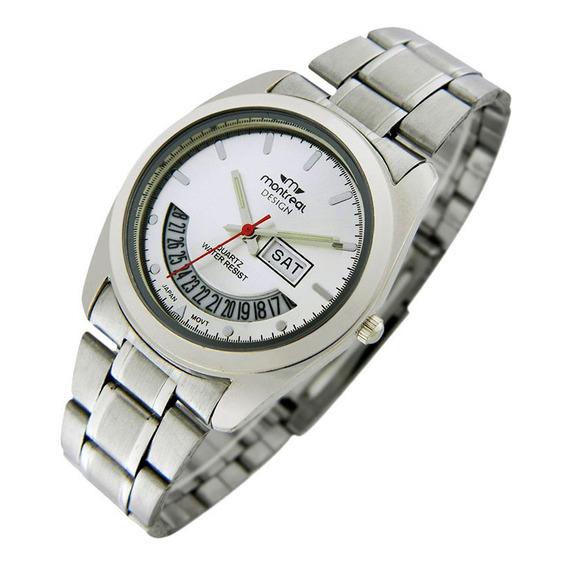 Reloj Montreal Caballero Ml061 Tienda Oficial Envio Gratis
