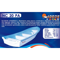 Lancha Fibra De Vidrio 20 Pies Nc-20-pa | Argos