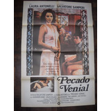 Afiche Cine Pecado Venial Laura Antonelli Erotico Italiano