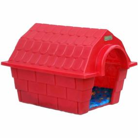 Casinha Dog House Grande - Vermelho