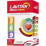 Kit Com 4 Lavitan Omega 3 6 9 C/360 Capsulas