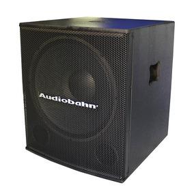 Bafle Subwoofer Bi Amplificado Bocina 18 Pulgadas Audiobahn