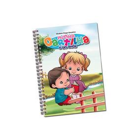 Livro Cartilha Alfabetização Infantil Escola Criança #7500