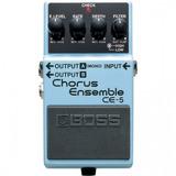 Pedal De Efecto Ce-5, Chorus, Boss
