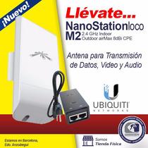 Antena Ubiquiti Nanostation Loco M2 2.4 Ghz 8 Dbi 200 Mw