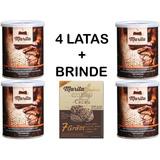 4 Latas Café Marita 3.0 Original Com Brinde Cookies Cacau !!