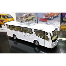 1:64 Scania Irizar Pb Blanco Autobus Kinsfun