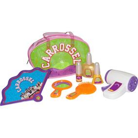 Brinquedo Kit Beleza Com 8 Peças Novela Carrossel 9247