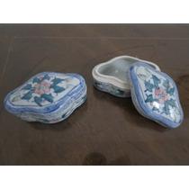 Cajitas De Ceramica Pintadas - Implecables!