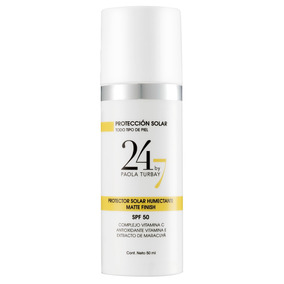 Protector Solar Humectante Spf50 Matte Finish 24/7