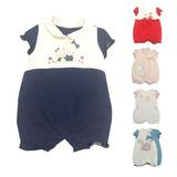 Macacão De Malha Para Bebê Varios Modelos
