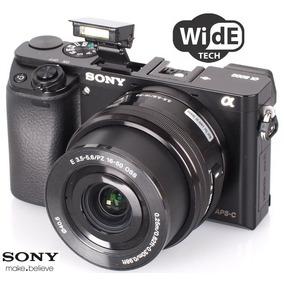 Sony A6000 + Lente Kit Selp1650 - 24.3mpx - Nueva En Caja