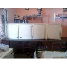 Gabinete De Cocina Aereo De 4 Puertas De Formica