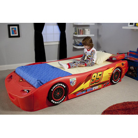 Cama Cars Rayo Mcqueen Disney Pixar Niño Camita
