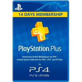 Psn Plus 14 Dias Playstation Plus Tu Usuario + Juegos Ps4