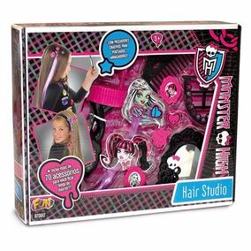 Kit De Maquiagem Monster High Hair Studio - Fun