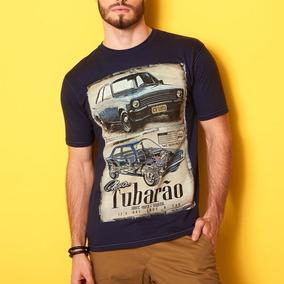Camiseta Masculina Detrick Premium Estampa Carros Chevette