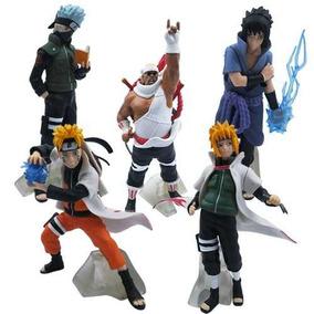 Bonecos Pvc Resistente Do Anime Naruto R$ 75,99 + Frete