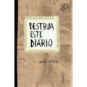 Destrua Este Diario Livro Keri Smith Artes Frete Gratis