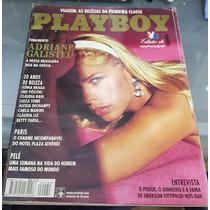 Revista Play Boy Adriane Galisteu -adulto- Para Maiores De18