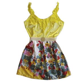 Vestido Feminino Curto Moda Blogueiras Estilo Saia Blusa