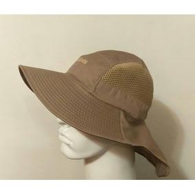 Sombrero Ala Ancha Hombre Color Khaki Proteger Del Sol 0e6f8c8466b