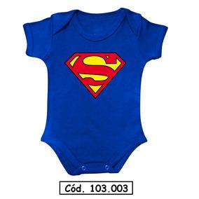Body Bebê Superman Batman Super Shock Coisa Aquaman Nerd