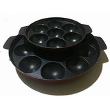 Non Stick Appam Pan,appam Maker Set Of 2,12 Pits And 7 Pits