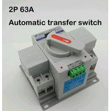 Interruptor Transferencia Automática /manual 2p 220 Volts