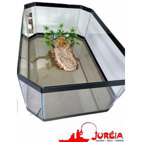 Aquario Terrario Bacia Para Tartaruga Tam. Médio