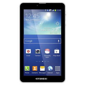 Tablet Hyundai Hdt-7427g Quadcore 8gb Wifi + 3g 2 Chip 7 Pol