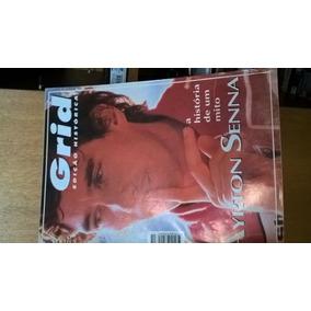 Coleção Ayrton Senna Videos, Revistas, Jornais, Cartões