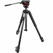 Manfrotto Mvh500ah + Mt190x3 - Tripé Profissional Filmadora