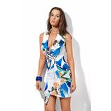 Vestido 2 Em 1 Estampado Morena Rosa Ref:105050
