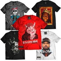 Camiseta Eminem Rap God Slim Shady Rap Thug Kings Original