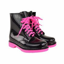 Jelly Boots Botas Para Lluvia Transparentes/plástico