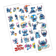 Plancha De Stickers De Lilo & Stitch