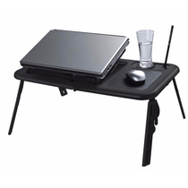 E-table Cooler Ld09 Preta - Mesa Com Cooler Para Notebook