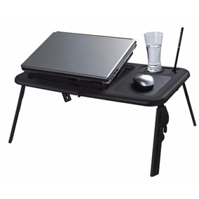 E-table Cooler Preta Com Hub Usb - Mesa Cooler Para Notebook