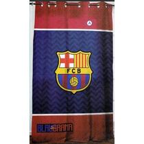 Barcelona Fcb Cortina Recamara Futbol Regalo Decoracion Bano