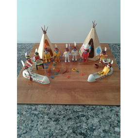 Playmobil Western Trol Tribo Indígena