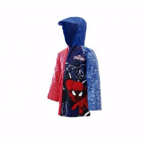 Impermeable Spiderman Hombre Araña Contra Agua