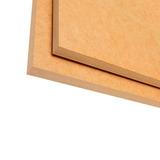 Lámina De Mdf Crudo 18mmx1,83x2,44 Cano Woods