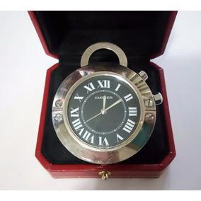 Reloj Cartier Santos Dumont De Bolsillo Travel $9800 Origina
