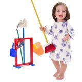 Juguete Niños Mini Juego De Limpieza Con Accesorios Trepsi