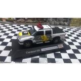 S10 Cab Dupla Viatura Policia Rodoviária Sp Miniatura 1/43