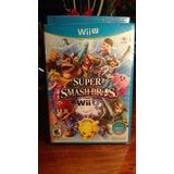 Super Smash Bros Wii U - Nuevo Y Sellado