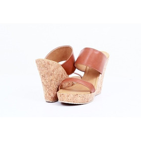 Zapatos Tacon Corcho Sandalias Esilo Sueco