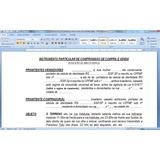Modelo De Contrato De Compra E Venda ,locação,intermediação