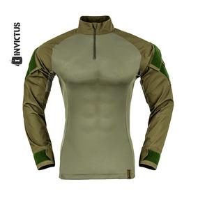 Camisa Raptor T-shirt Combat Invictus Verde Oliva C Rip Stop